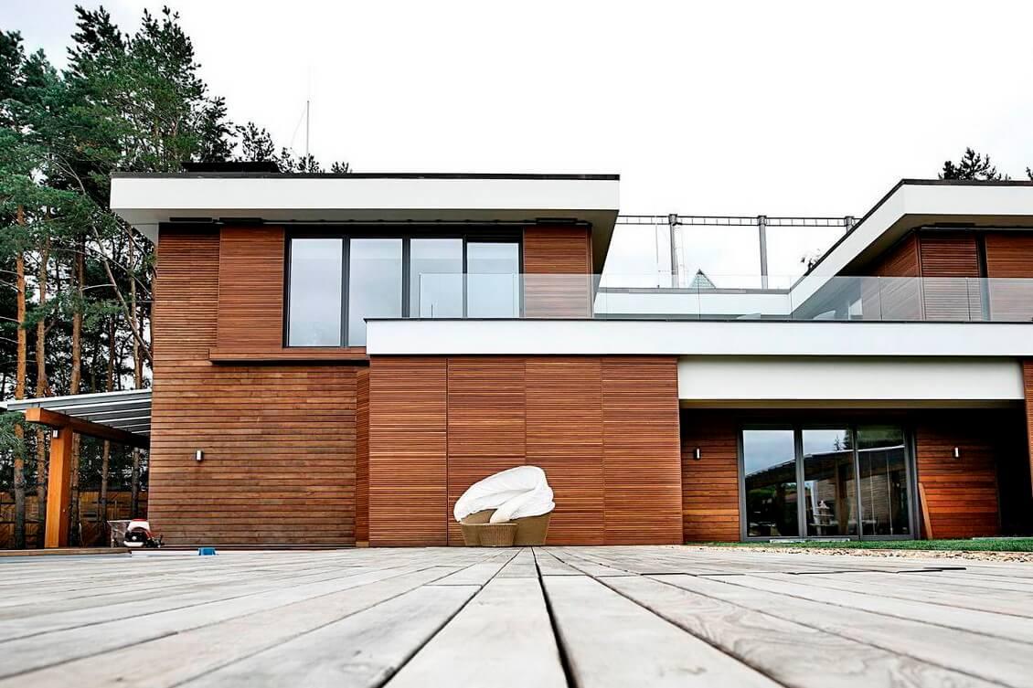 Вентилируемый фасад 1