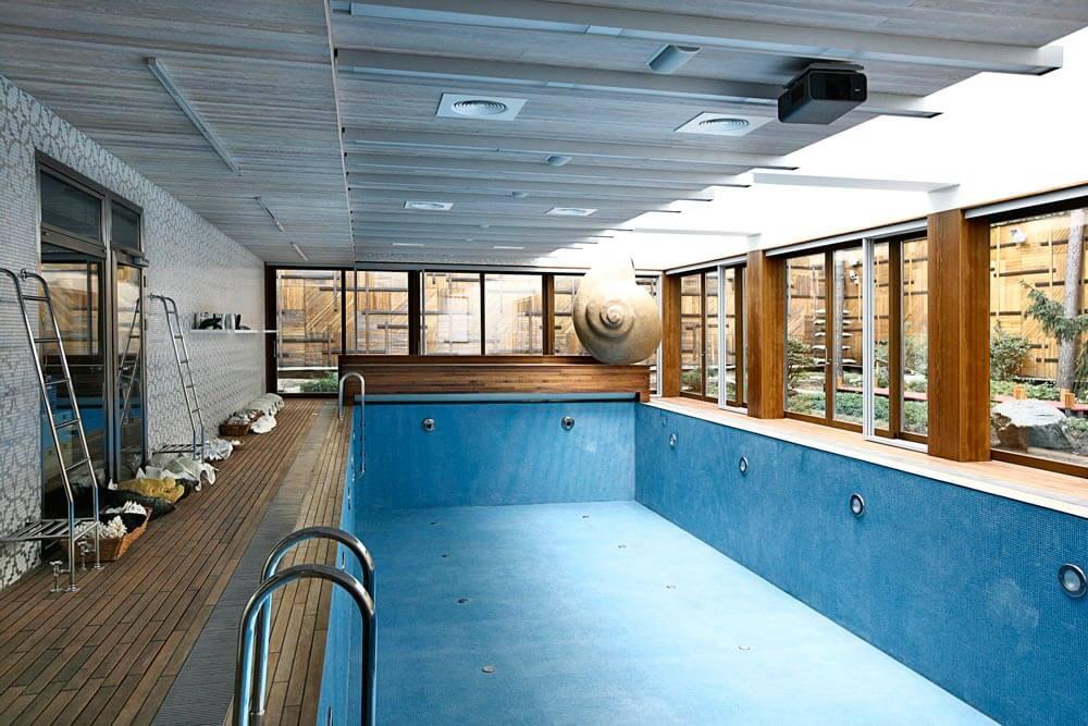 Проектирование и остекление бассейнов